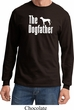 The Dog Father White Print Long Sleeve Shirt