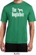 The Dog Father White Print Mens Moisture Wicking Shirt