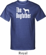 The Dog Father White Print Mens Tall Shirt