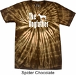 The Dog Father White Print Spider Tie Dye Shirt