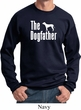 The Dog Father White Print Sweatshirt