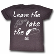 The Godfather Shirt If You Leave Adult Red Heather Tee T-Shirt