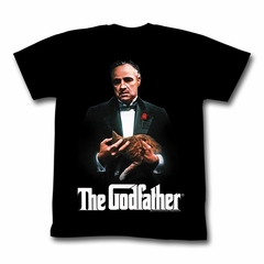 The Godfather Shirt New G Adult Black Tee T-Shirt