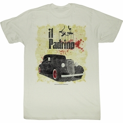 The Godfather Shirt Respect Me Adult Dirty White Tee T-Shirt