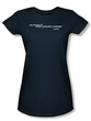 The Good Wife Juniors Shirt Law Offices Navy T-Shirt