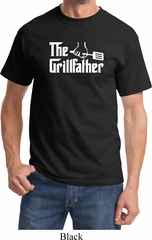 The Grillfather White Print Shirt