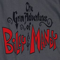 The Grim Adventures Of Billy & Mandy Grim Logo Shirts