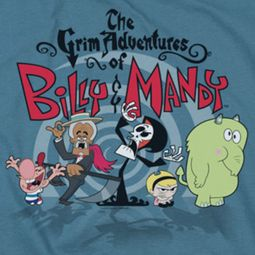 The Grim Adventures Of Billy & Mandy Group Shot Shirts