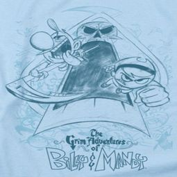 The Grim Adventures Of Billy & Mandy Sketched Shirts