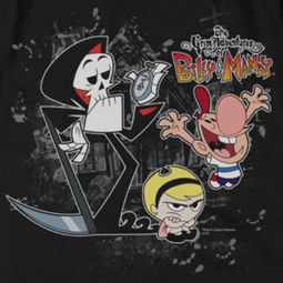 The Grim Adventures Of Billy & Mandy Splatter Cast Shirts