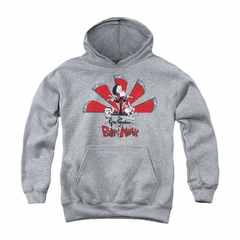 The Grim Adventures Of Billy & Mandy Youth Hoodie Grim Adventures Athletic Heather Kids Hoody