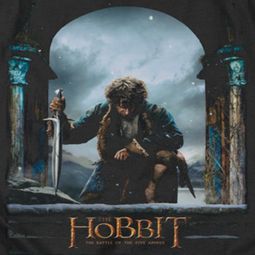 The Hobbit Battle Of The Five Armies Bilbo Poster Shirts