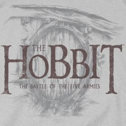 The Hobbit Battle Of The Five Armies Door Logo Shirts