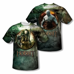 The Hobbit Battle Of The Five Armies Dwarves Vs Azog Sublimation Kids Shirt Front/Back Print