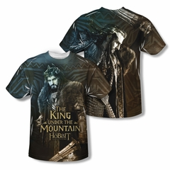 The Hobbit Battle Of The Five Armies King Sublimation Kids Shirt Front/Back Print