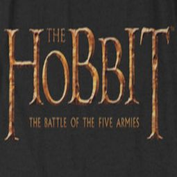 The Hobbit Battle Of The Five Armies Logo Shirts