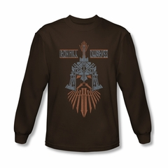 The Hobbit Battle Of The Five Armies Shirt Ironhill Dwarves Long Sleeve Coffee Tee T-Shirt