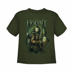 The Hobbit Battle Of The Five Armies Shirt Kids Thorin And Company Green Youth Tee T-Shirt