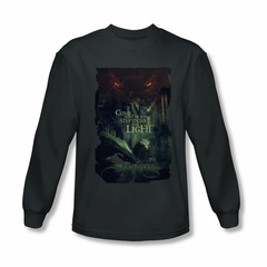 The Hobbit Battle Of The Five Armies Shirt Taunt Long Sleeve Charcoal Tee T-Shirt
