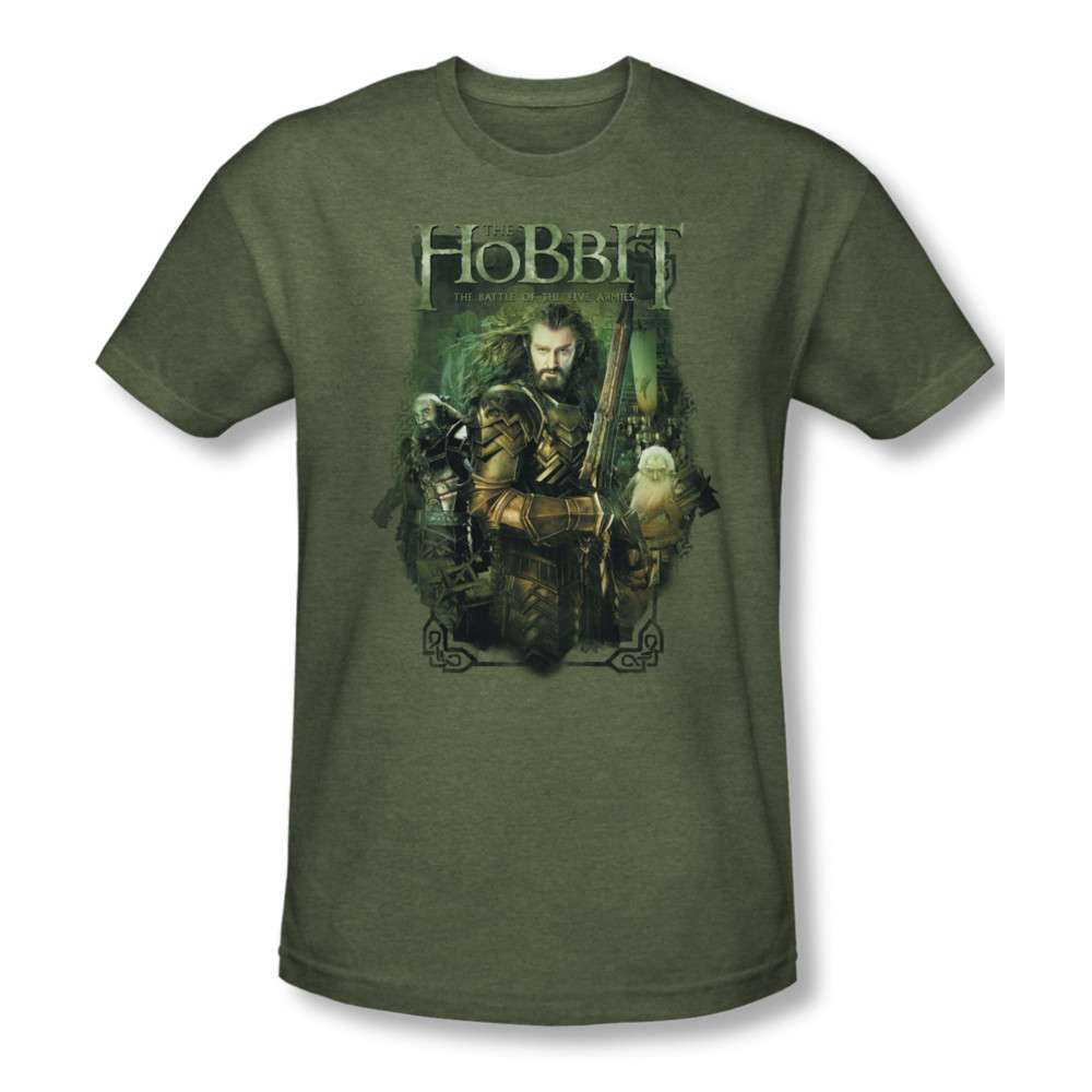 The Hobbit Thorin And Company Adult Work Shirt