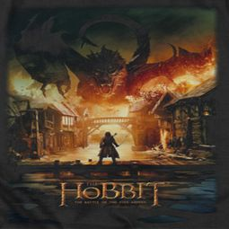 The Hobbit Battle Of The Five Armies Smaug Poster Shirts