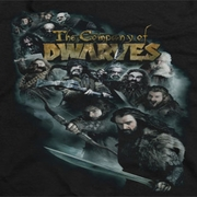The Hobbit Company Of Dwarves Shirts