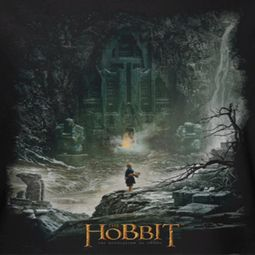The Hobbit Desolation Of Smaug At Smaug's Door Shirts