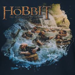 The Hobbit Desolation Of Smaug Barreling Down Shirts