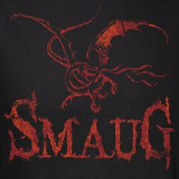 The Hobbit Desolation Of Smaug Dragon Shirts