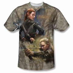 The Hobbit Desolation Of Smaug Elves Sublimation Shirt