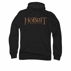 The Hobbit Desolation Of Smaug Hoodie Sweatshirt Desolation Of Smaug Logo Black Adult Hoody