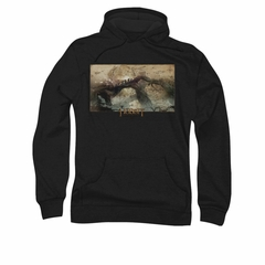 The Hobbit Desolation Of Smaug Hoodie Sweatshirt Epic Journey Black Adult Hoody Sweat Shirt