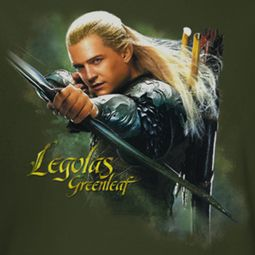The Hobbit Desolation Of Smaug Legolas Greenleaf Shirts