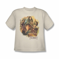 The Hobbit Desolation Of Smaug Shirt Kids Collage Cream Youth Tee T-Shirt