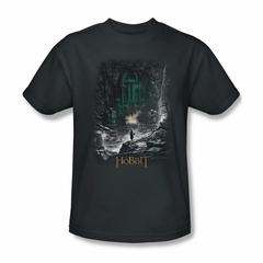 The Hobbit Desolation Of Smaug Shirt Second Thoughts Adult Charcoal Tee T-Shirt