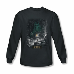 The Hobbit Desolation Of Smaug Shirt Second Thoughts Long Sleeve Charcoal Tee T-Shirt