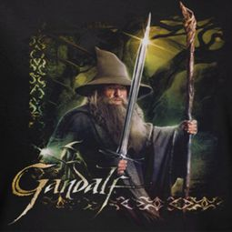 The Hobbit Desolation Of Smaug Sword And Staff Shirts