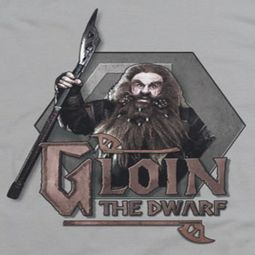 The Hobbit Gloin Shirts