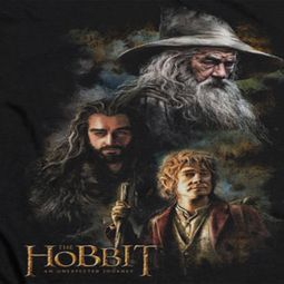 The Hobbit Journey Painting Shirts