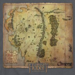 The Hobbit Map Shirts
