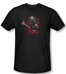 The Hobbit Shirt Movie Unexpected Journey Bolg Adult Black Tee
