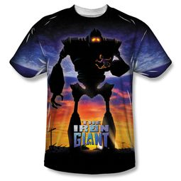 The Iron Giant Giant Poster Sublimation Shirt