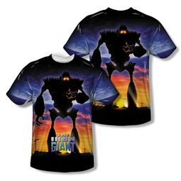 The Iron Giant Giant Poster Sublimation Shirt Front/Back Print