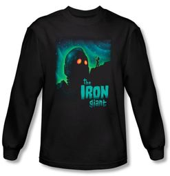 The Iron Giant Long Sleeve T-Shirt Movie Look To The Stars Black Shirt