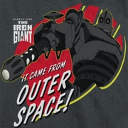 The Iron Giant Outer Space Shirts