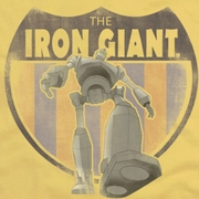 The Iron Giant Patch Shirts