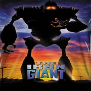 The Iron Giant Poster Sublimation Shirts
