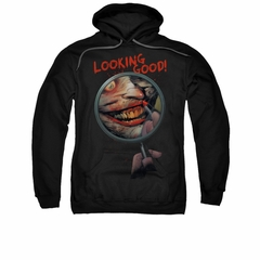 The Joker Hoodie Looking Good Black Sweatshirt Hoody
