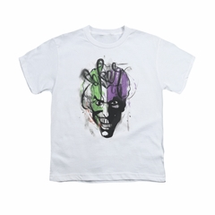 The Joker Shirt Kids Airbush White T-Shirt