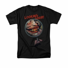 The Joker Shirt Looking Good Black T-Shirt